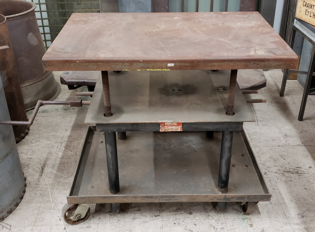 Industrial Factory Table Trolley