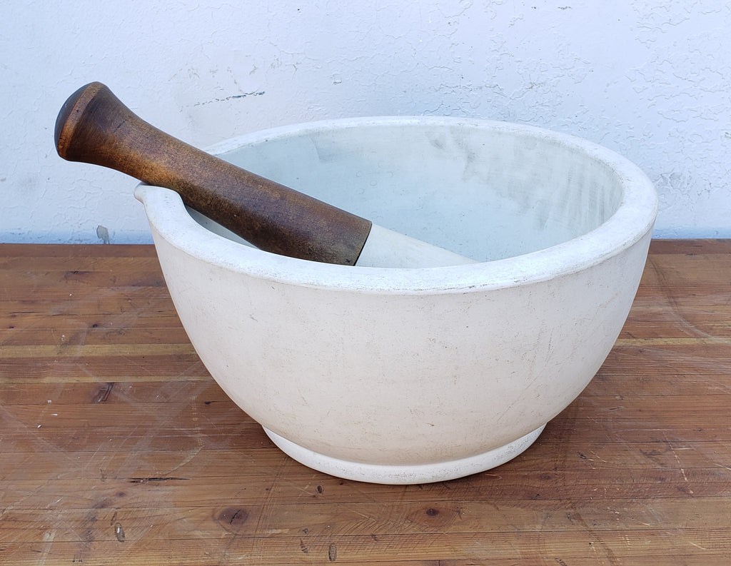 Antique Mortar and Pestle (Kitchen Decor)