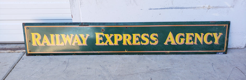 Railway Express Agency Sign