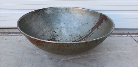 Large Metal Bowl