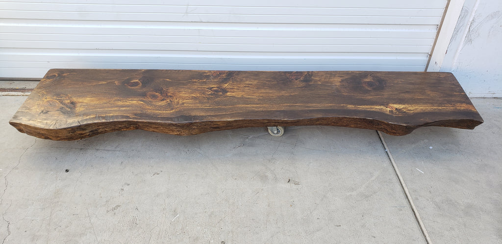 8 Ft Live Edge Slab