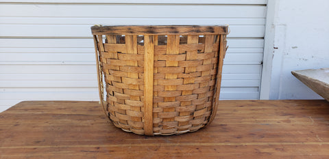 Round Cotton Picking Basket
