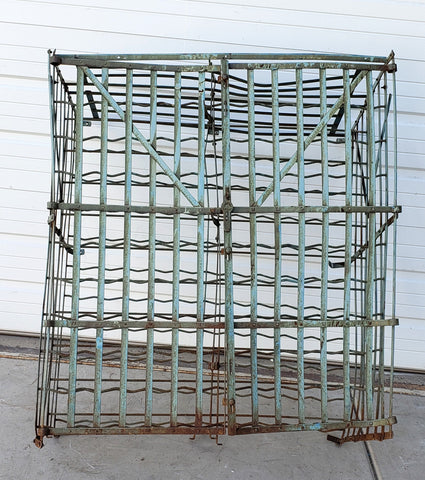 Rigidex French Zinc Wine Cage