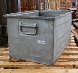 Industrial Iron Crate