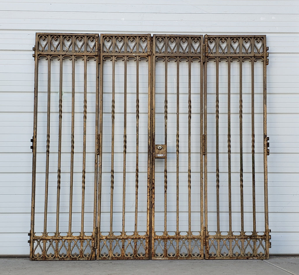 Pair of Bi-Fold Entry Gates