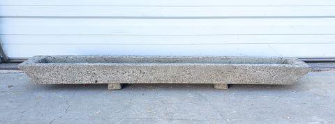 Stone Trough with Riser