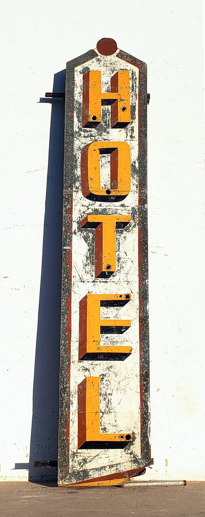 Metal Hotel Sign