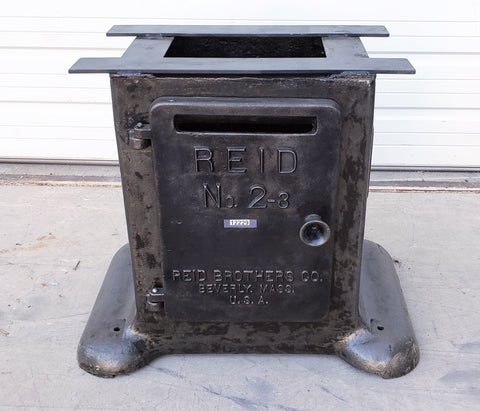 REID Stripped Cast Iron Table Base