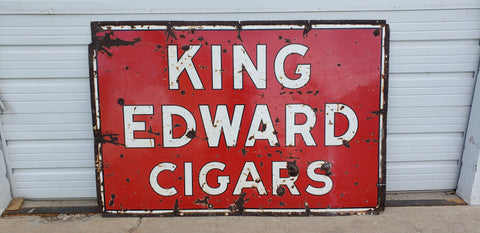 King Edward Cigar Sign