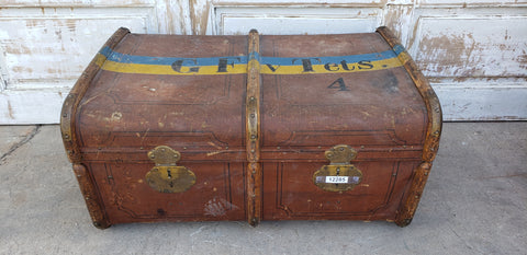 Painted Suitcase/Trunk
