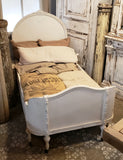Vintage White Single Bed