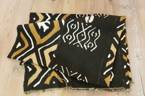 Tan/Brown African Fabric (textiles)