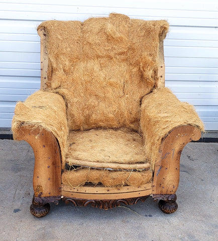 Pair of Deconstructed Arm Chairs