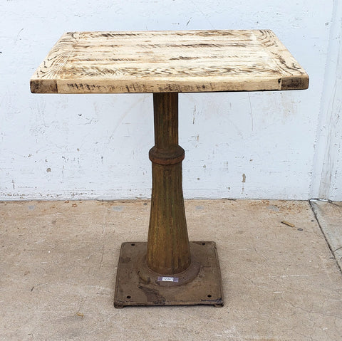 Fluted Cast Iron Table Base