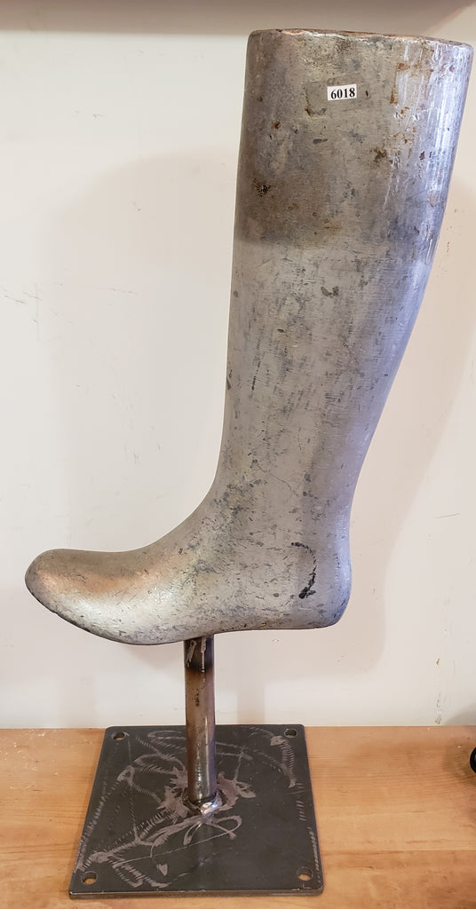 Industrial Rubber Boot Mold on Stand