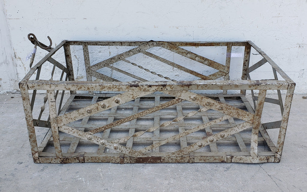 French Zinc Crate