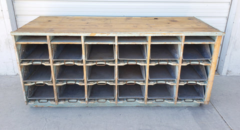 18 Drawer Work Island Cabinet