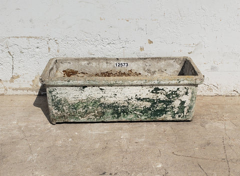 Willy Guhl Rectangular Concrete Planter