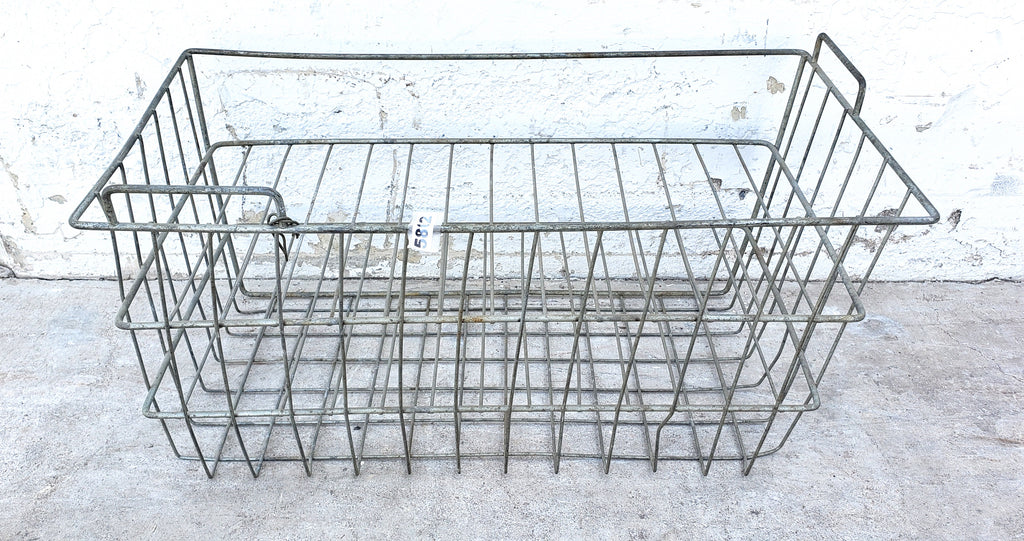 Wire 2-Level Crate