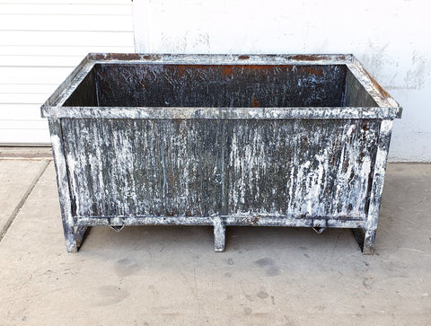 Industrial Iron Planter Box