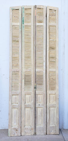 Set of Antique Bi-Fold Shutters