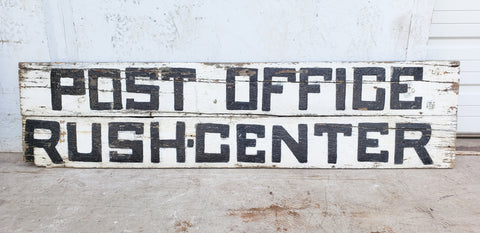 "Antique ""Post Office"" Sign"