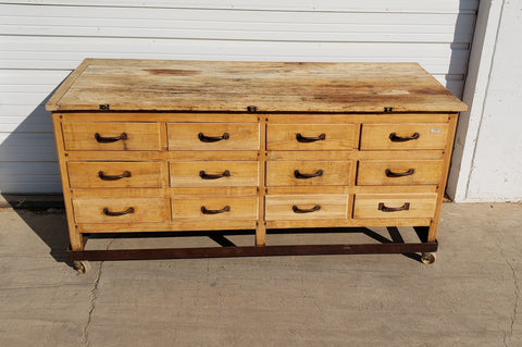 12 Drawer Bakery Cabinet/Island