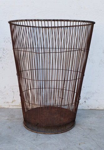 Tall Wire Basket