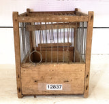 Small Wood Bird Cage