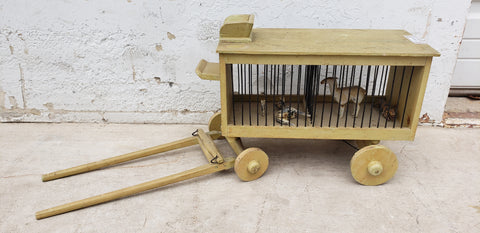 Folk Art Circus Wagon