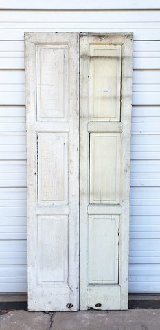 Pair of 3 Panel French Doors