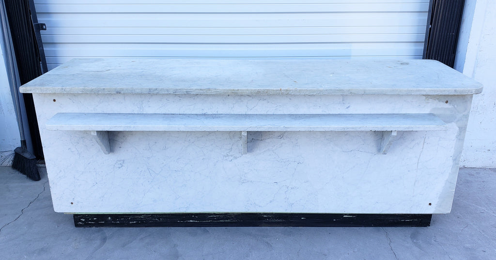White Marble Dutch Store Counter