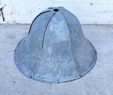 Zinc Garden Cloche / Light Shade
