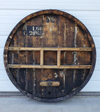 Large French Wine Barrel Front (No.6)