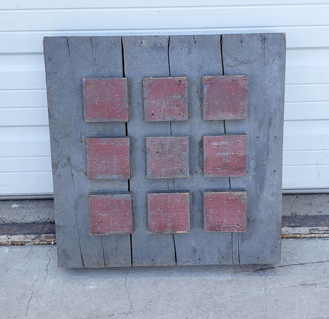 Wooden Industrial Mold from L'isle-sur-la-Sorgue