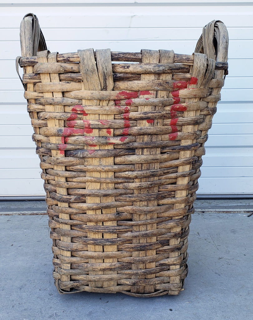 Portuguese Grape Gathering Basket