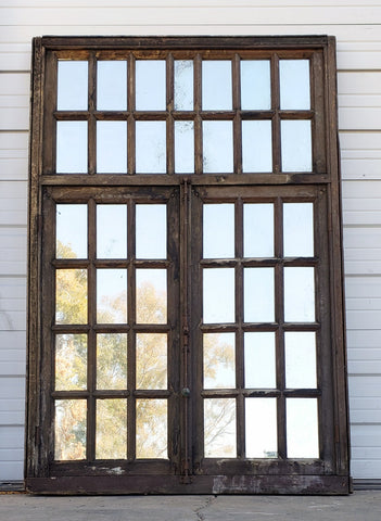 Large Antique Mirrored Window