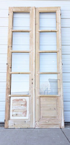 Pair of 4 Lite French Doors
