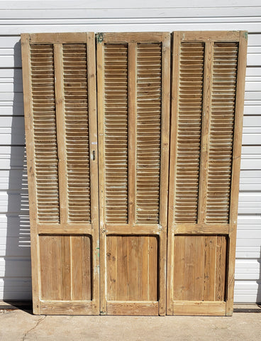 Set of 3 Panel Shutters