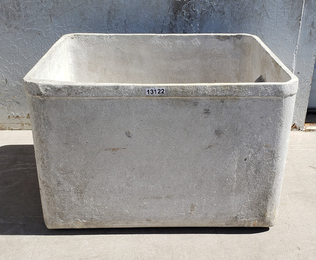 Large Square Willy Guhl Planter