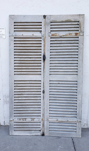 Pair of French Shutters