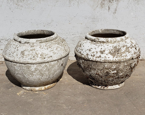 Pair of Willy Guhl Jardeniere Planters