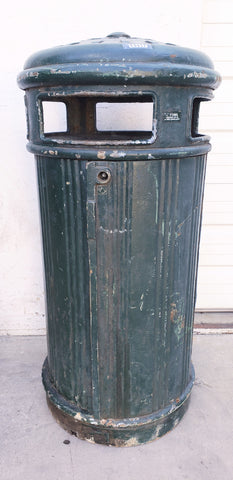 Iron Garbage Can