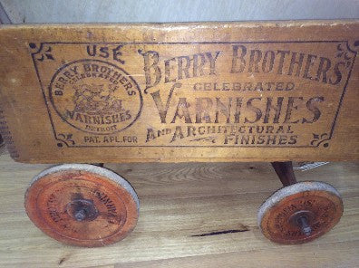 "Wagon, 1800's ""Berry Brothers Varnish"""