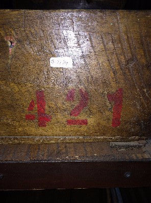 Box, wood red #'s421
