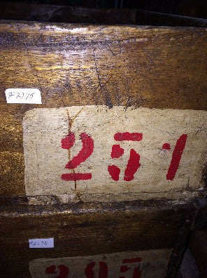 Box, wood red #'s251