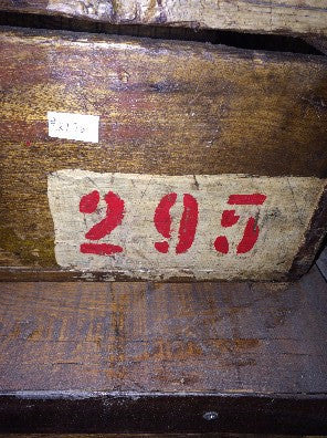 Box, wood red #'s295