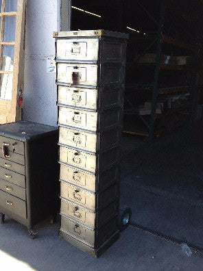 10 Drawer Postman's Cabinet