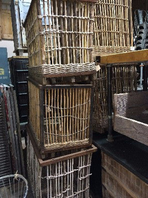 "French Rolling Basket ""Panier Roulant"""