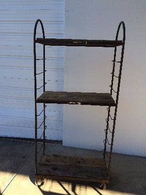 3 Tier Rolling Bakery Rack